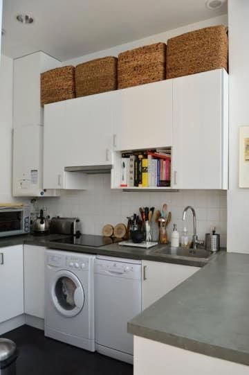 17 Ways To Squeeze A Little Extra Storage Out Of A Tiny Kitchen #DecoraciondeCua…