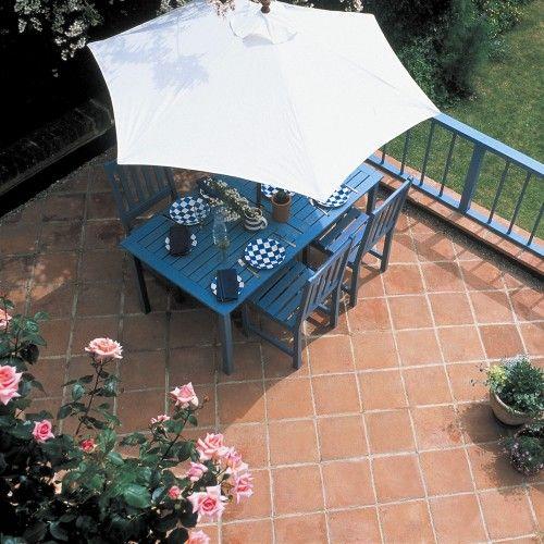 Bradstone, Tile Paving Mellow Terracotta 300 x 300 - 96 Per Pack