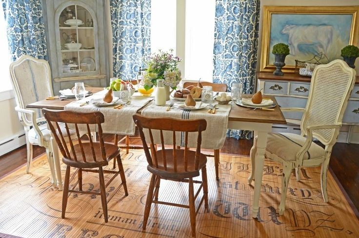 room design living room and dining room inspiration country cottage