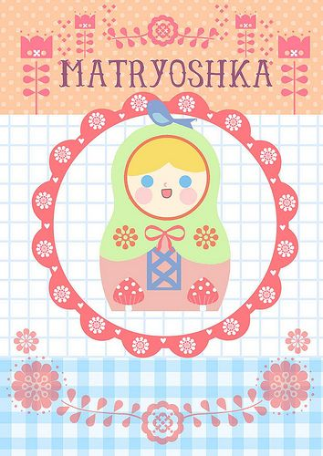 Printable Babushka