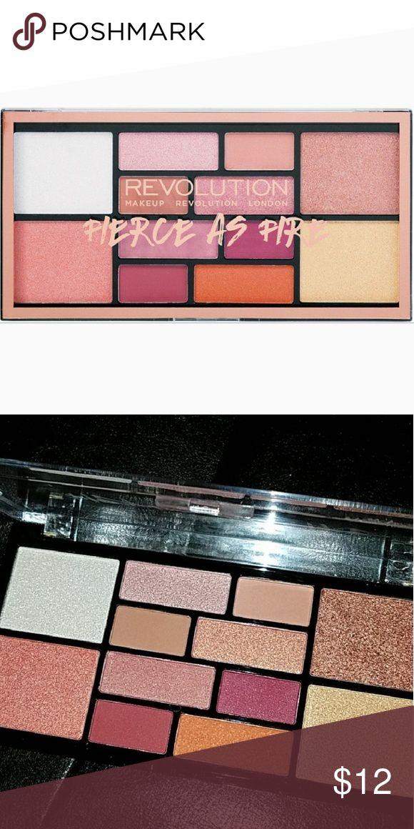 Makeup Revolution Fierce als Feuer-Palette Brand New nie Makeup Revolu verwendet worden …   – My Posh Picks
