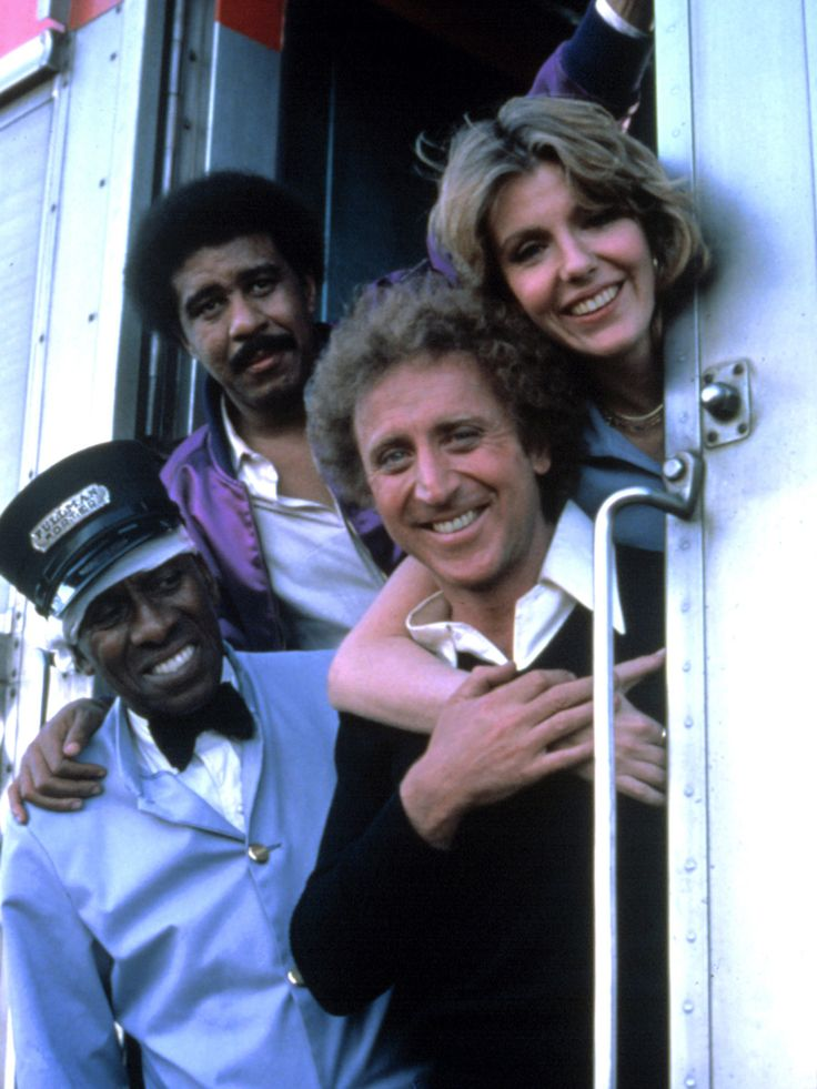 Silver Streak, Scatman Crothers, Richard Pryor. Gene Wilder...