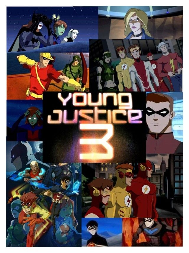 """Young Justice Season 3 Confirmed!"" by cryoatic ❤ liked on Polyvore featuring art"
