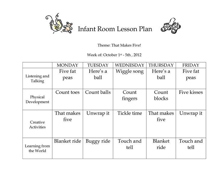 best 25 infant lesson plans ideas on pinterest daycare