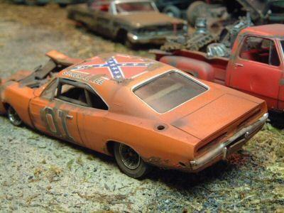 Dukes Of Hazzard Mopar Wrecks Models Pinterest Scale Models