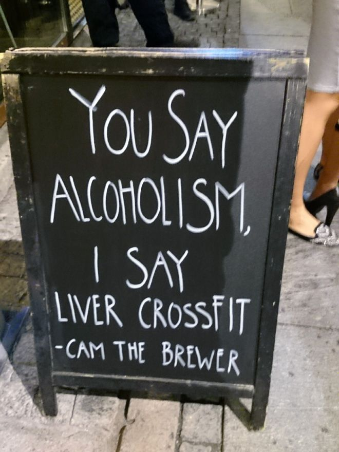 It's Not Alcoholism!