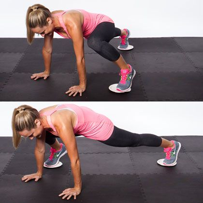 Home Workout: Challenge Your Muscles.  sliding-ill have to try it