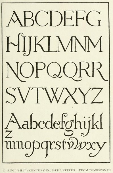 From the public domain ebook quot letters lettering a