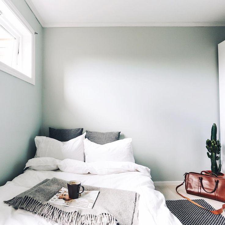 """1,543 likerklikk, 3 kommentarer – EIRIN KRISTIANSEN (@eirinkristiansen) på Instagram: """"Crushing on this wall paint.. And the room in general  #jotunlady #softmint #homeinspo"""""""