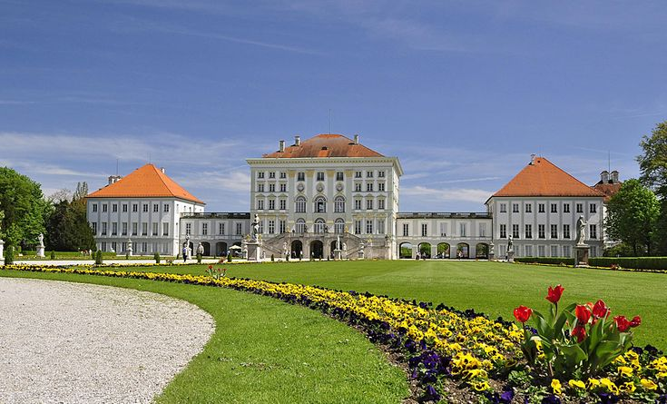 Nymphenburg Castle was built from 17th-19th century as a summer residence for the Bavarian Electors and Kings