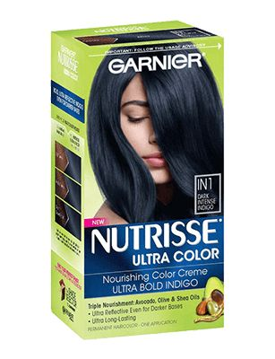 Hair Color Nutrisse Ultra Color Dark Intense Indigo
