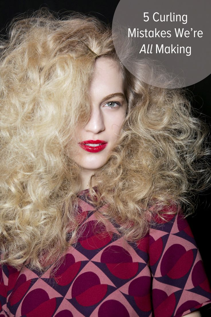 Are You Making One of the 5 Major Mistakes of Hair Curling?