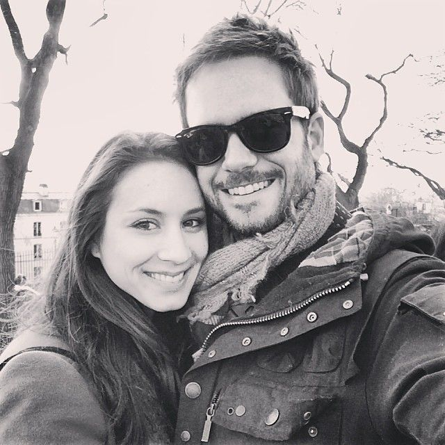 Troian Bellisario and Patrick Adams