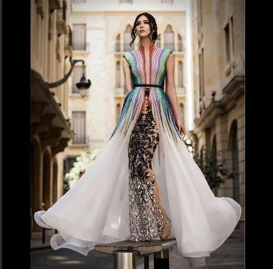 Cheap Evening Dresses Australia Yousef Aljasmi Charbel Karam Myriam Fares 2015new Celebrity Dress Comfortable White Floor Length A Line Sleeveless Sexy Cheap Dresses From Louisvuigon, $312.05| Dhgate.Com