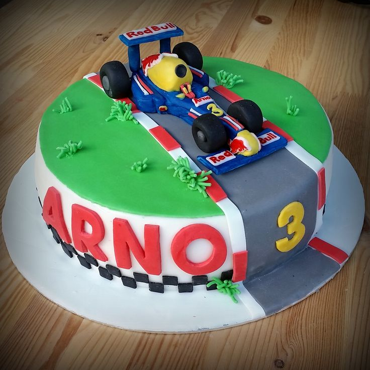 Formula 1, Red Bull cake, milk-free