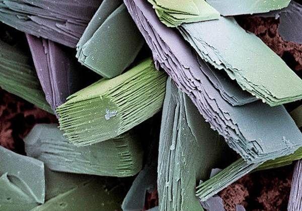 blood clot crystals