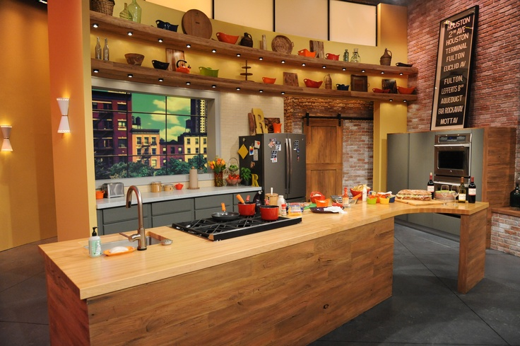The rachael ray show has a new home for season seven and for Kitchen set 008 83