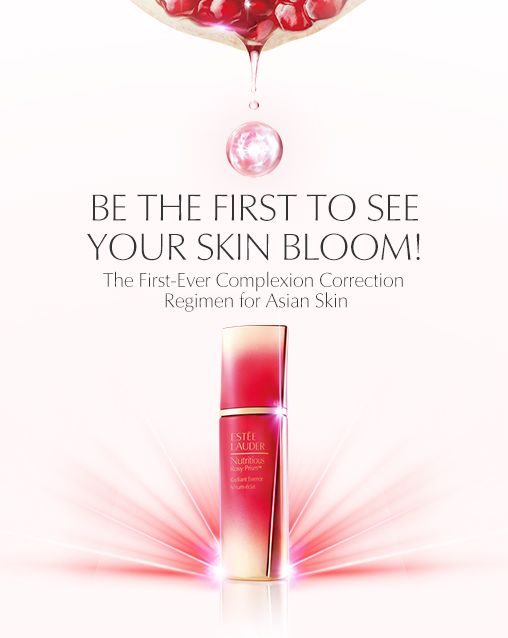 Estée Lauder Nutritious Rosy Prism Radiant Essence launching in Singapore…