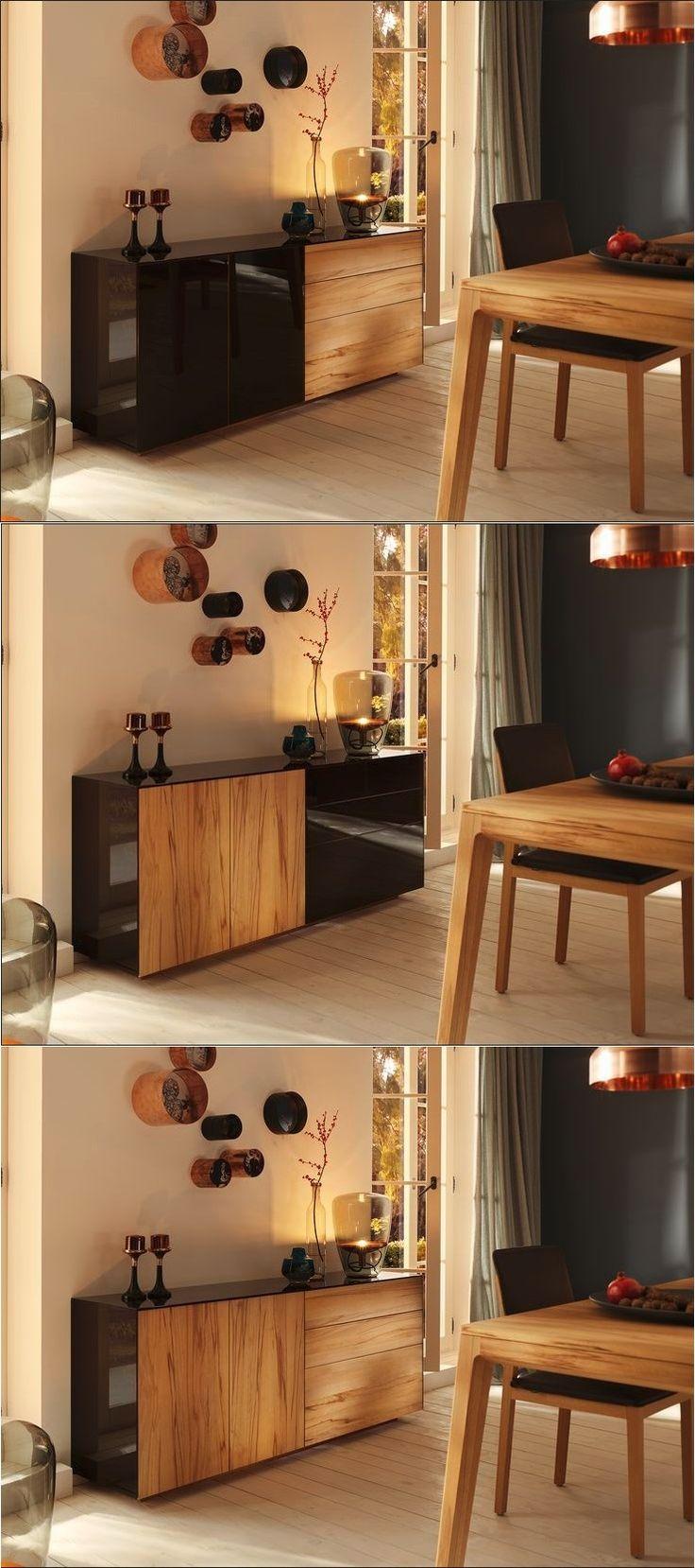 cubus pure sideboard with drawers team 7 natrlich wohnen design by sebastian desch
