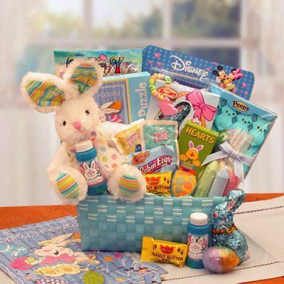 65 best gift baskets for kids images on pinterest auction ideas easter entertaining decorating ideas negle Images