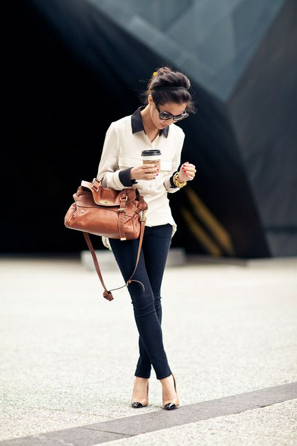 .: Shoes, Fashion Style, Street Style, Fall Looks, Black White, European Style, Work Outfits, Bags, Style Tips