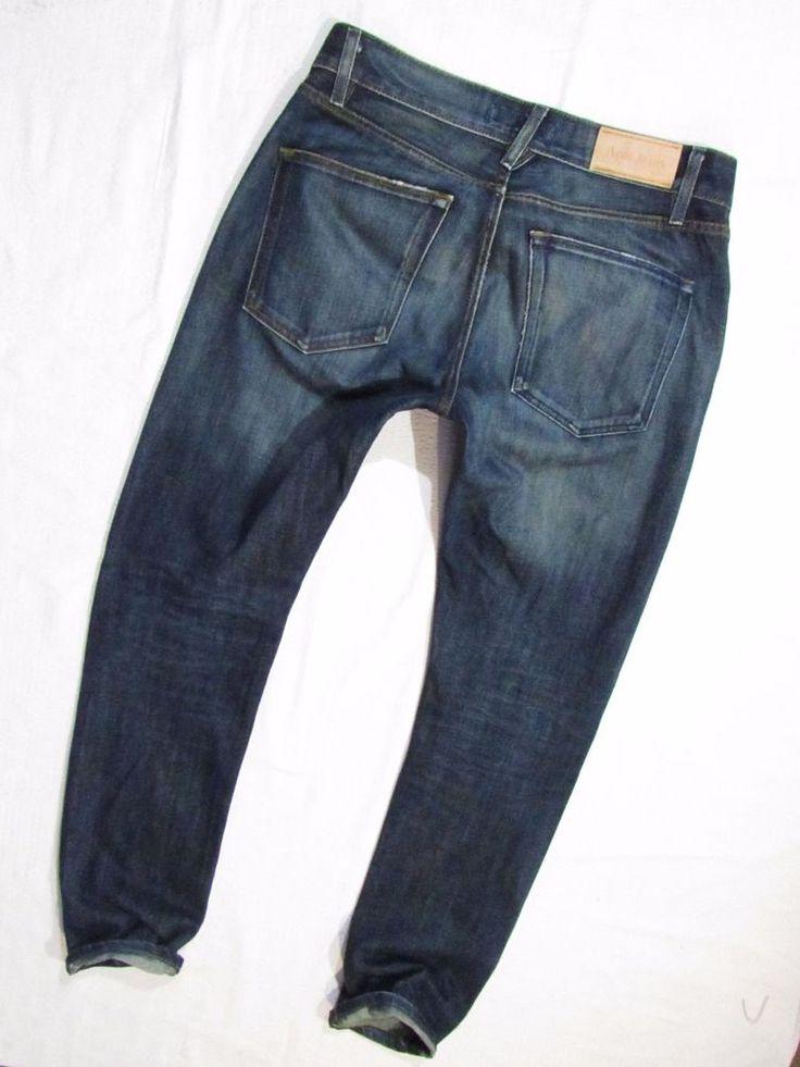 mens jeans Acne  Storlek  Dry Clean  W32 L 34 #Acne #SlimSkinny