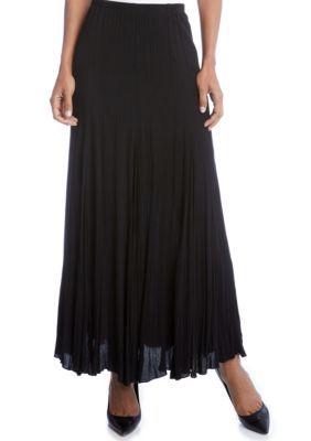 Karen Kane Women's Maxi Skirt - Black - Xl
