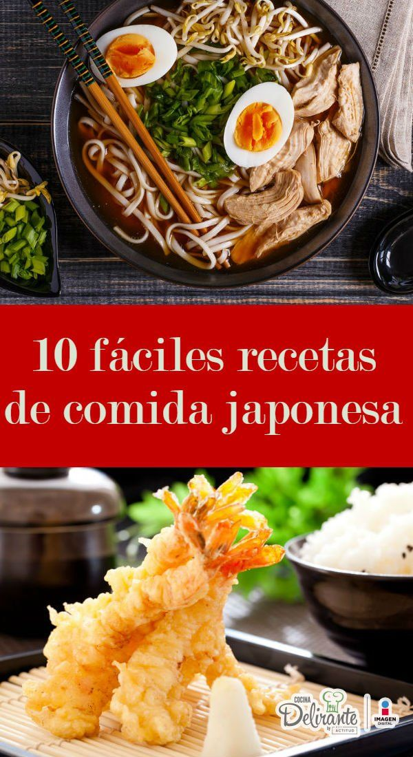 Disfruta Estas 10 Fáciles Recetas De Comida Japonesa