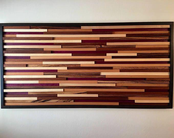 Arte della parete, arte legno, arte della parete, decorazione della parete, bonificata legno arte, arte moderna, scultura in legno, in legno