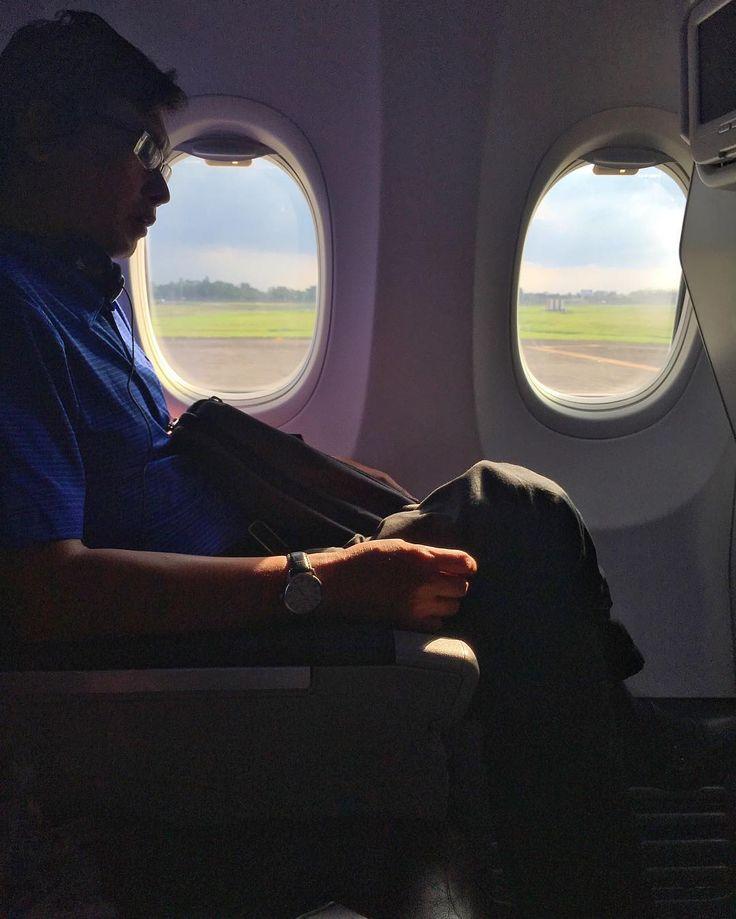 Malaysia Airlines (MAH) Business Class flight from Jakarta to Kuala Lumpur via @NicoleTravelBug