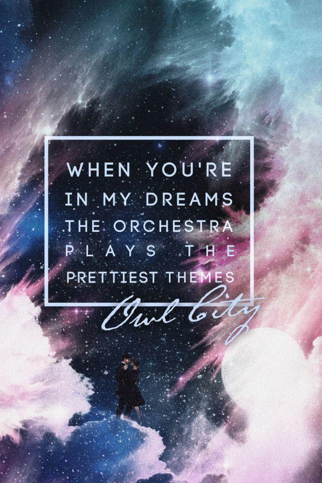 167 best Owl City Lyrics images on Pinterest | Owl city lyrics ...