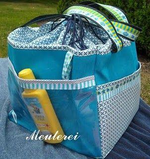 die besten 25 strandtasche n hen ideen auf pinterest strandtasche gro strandtasche und. Black Bedroom Furniture Sets. Home Design Ideas