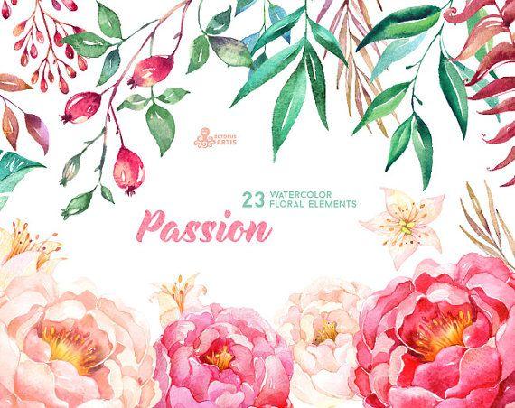 Este conjunto de mano de alta calidad pintados a acuarela elementos florales en contrataciones. Gráfica perfecta para invitaciones de boda, tarjetas de felicitación, fotos, carteles, frases y más.   -----------------------------------------------------------------  DESCARGA INMEDIATA Una vez que se despeja el pago, puede descargar los archivos directamente desde tu cuenta de Etsy.  -----------------------------------------------------------------  Este listado incluye:  23 x elementos…