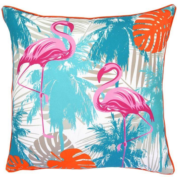 Rodriques Indoor/Outdoor Throw Pillow