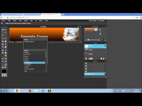 Tutorial wordpress cómo diseñar cabecera para tu blog con Pixlr