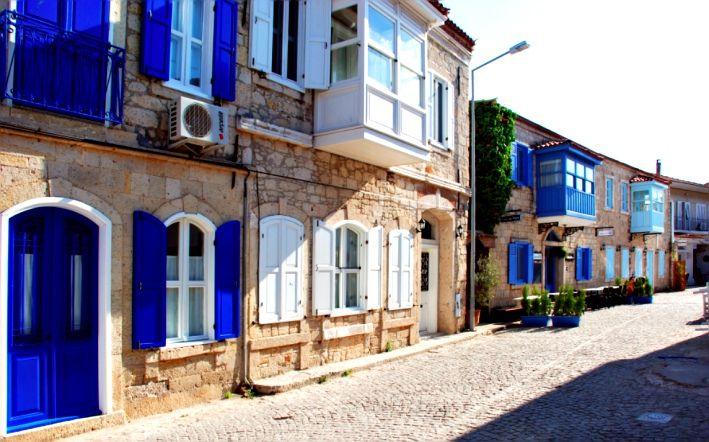 Alaçatı Taş Evleri (İzmir - Türkiye)