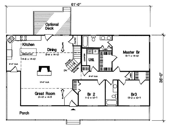 Rectangle House Plans
