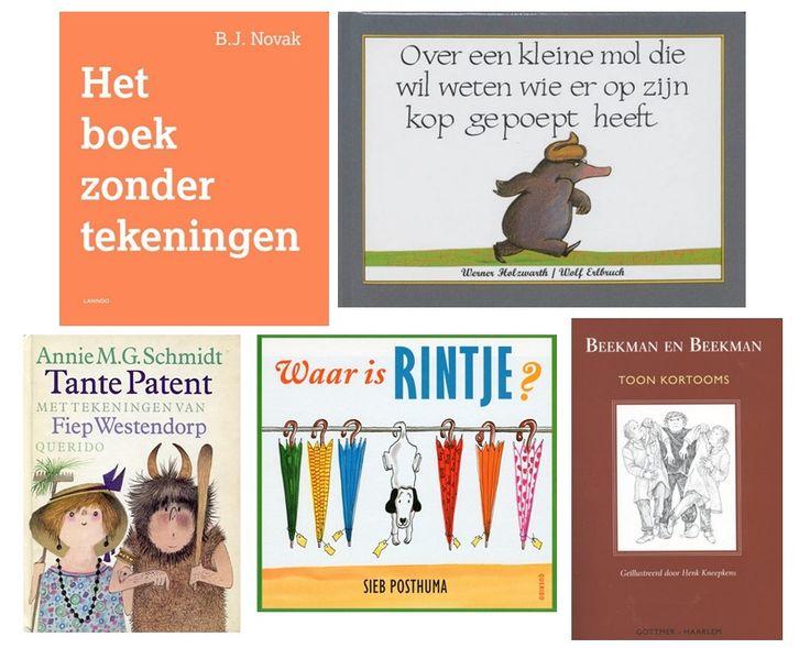 Top5 boeken waar jij en je kind helemaal dubbel van het lachen liggen (volgens onze volgers op Social)
