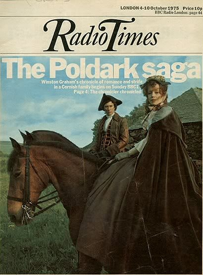 'POLDARK' (1975-77): 'the Poldark saga still sends a chill down my spine when the credits roll and that music and the crashing of the waves' ✫ღ⊰n