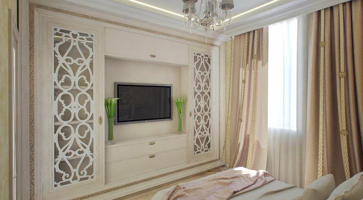 Размещение телевизора в спальне