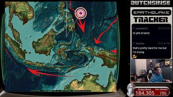 1/05/2017 -- Nightly Earthquake Update + Forecast -- New deep earthquakes -- New Transfer zone watch  #Dutchsinse