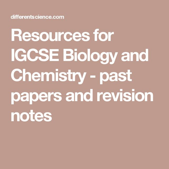 A and As Level Biology 9700 Past Papers