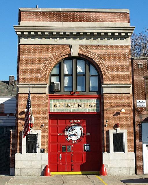 castle hill fire dept | E064 FDNY Firehouse Engine 64, Castle Hill, Bronx, New York City ...