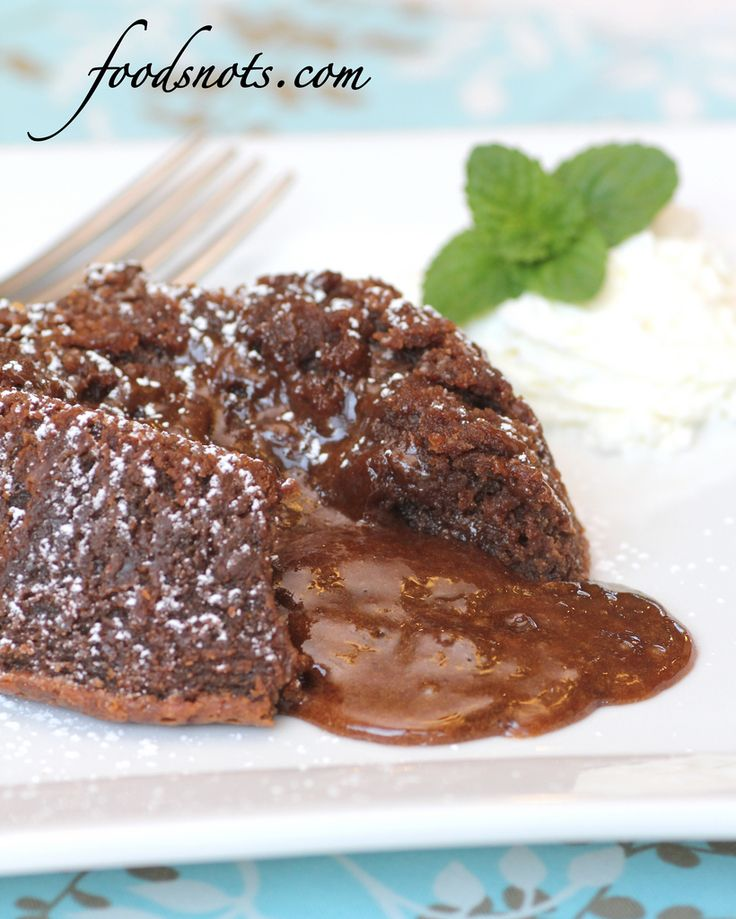 Recipe Snobs: Chocolate Molten Lava Cakes