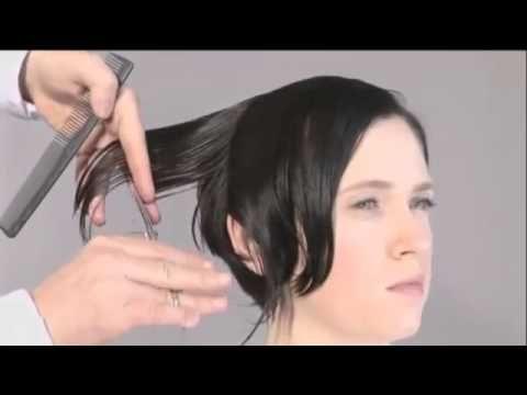 Aprenda a fazer um lindo corte curtinho desfiado com a nuca batida - YouTube