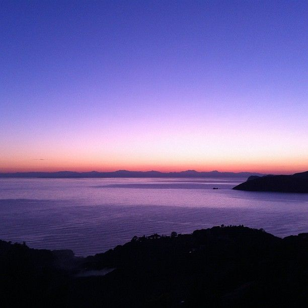 Sunset in Capoliveri, Elba Island, Italy