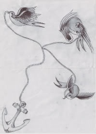 Oh, if I could somehow combine this with the idea of feathers or a dreamcatcher to make one tattoo to commemorate both grandparents, that would be cool.