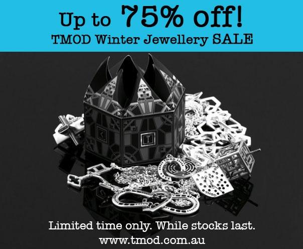 TMOD jewellery sale ON NOW up to 75% off!  http://tmod.com.au/catalog/jewellery