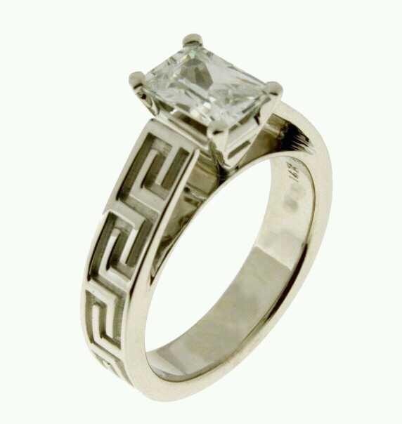 Greek Wedding Ring-GORGEOUS!! http://www.mirrormirrorincbridal.com/#