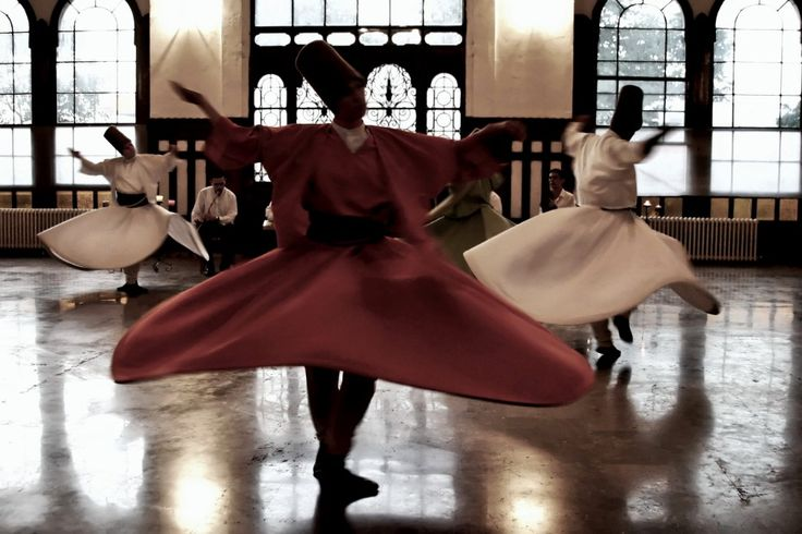 Uncovering sacred spaces around the world - Matador Network. Dervishes performing the Sema, Istanbul.